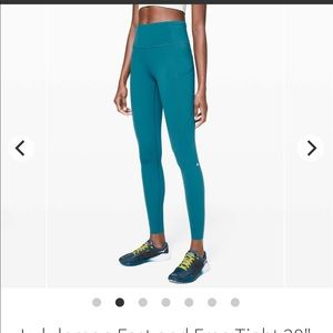 """Lululemon Fast and Free Tight 28"""" *Non-Reflective"""